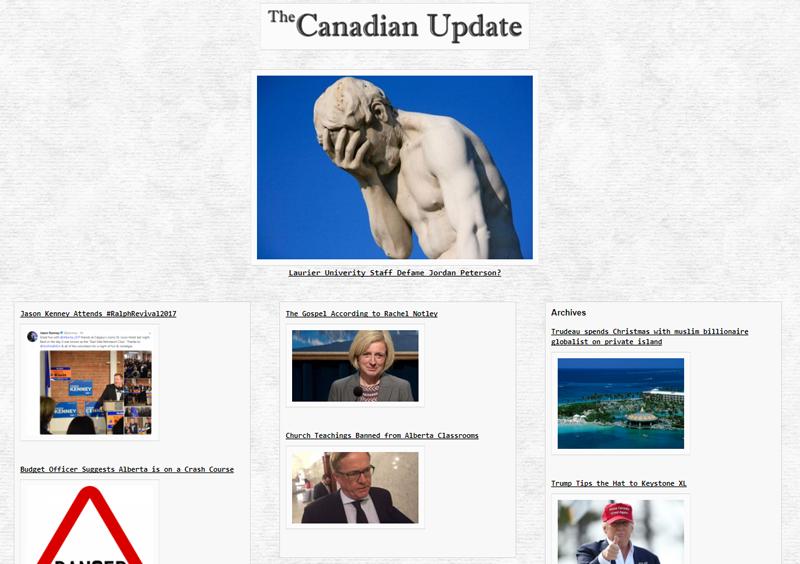 Drudge Report Website