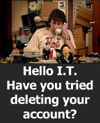 IT Crowd Twitter meme