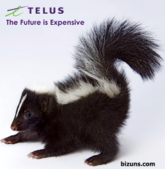 telus skunk animal