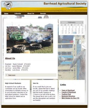 barrhead ag website screenshot