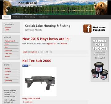 kodiak lake hunting and fishing website