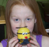 kinder surprise egg minion craft